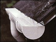 New Gutters Gutter Materials Protection And Installation